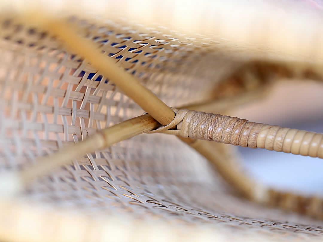 日本製籐まくら