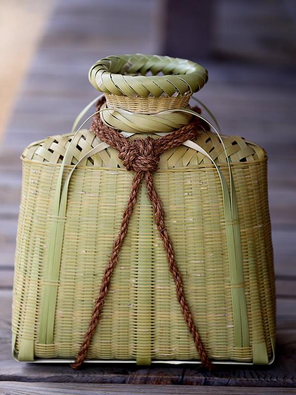鮎籠、シタミ、魚籠