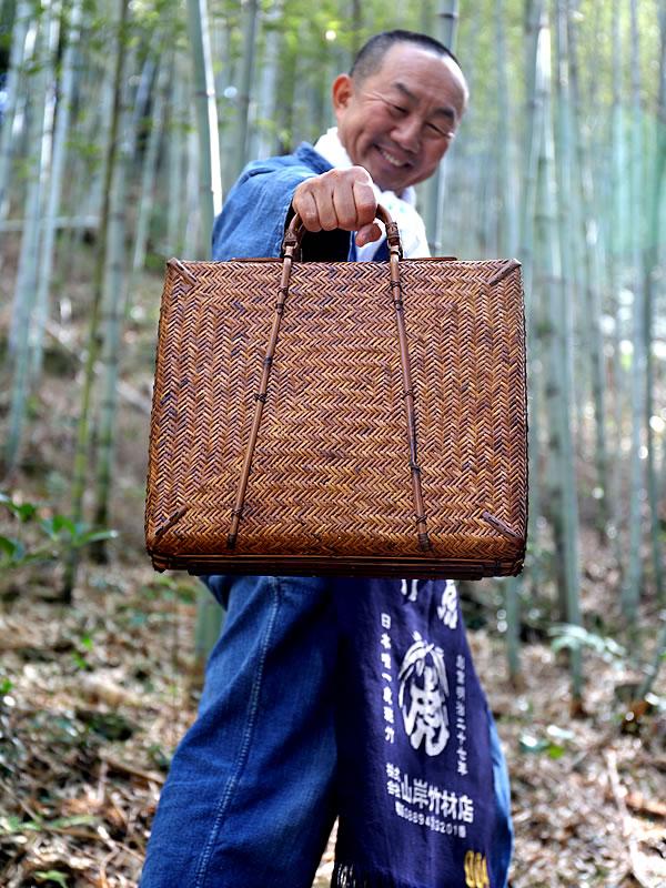 竹製アタッシュケース、竹ダレスバッグ