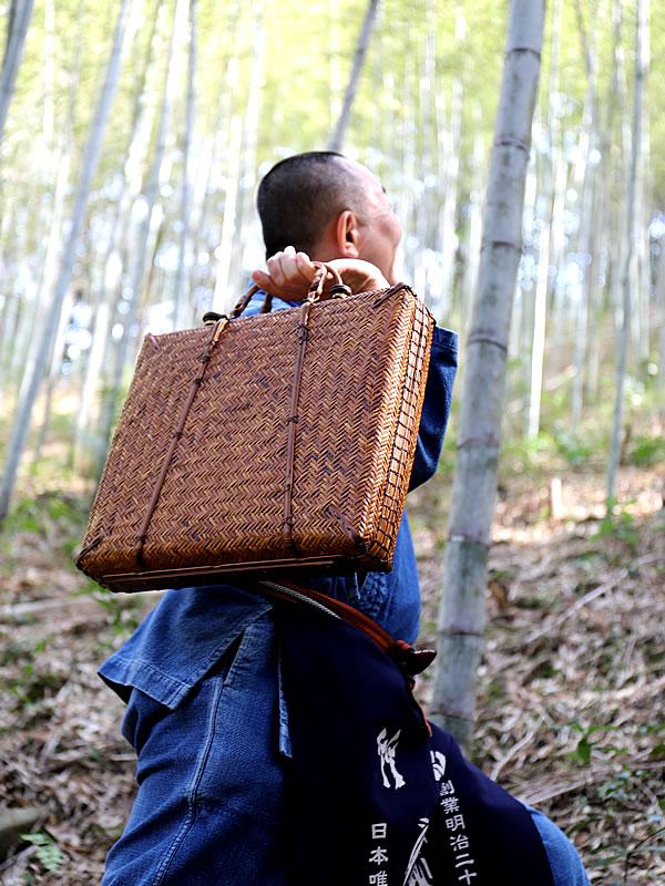 竹アタッシュケース、竹鞄