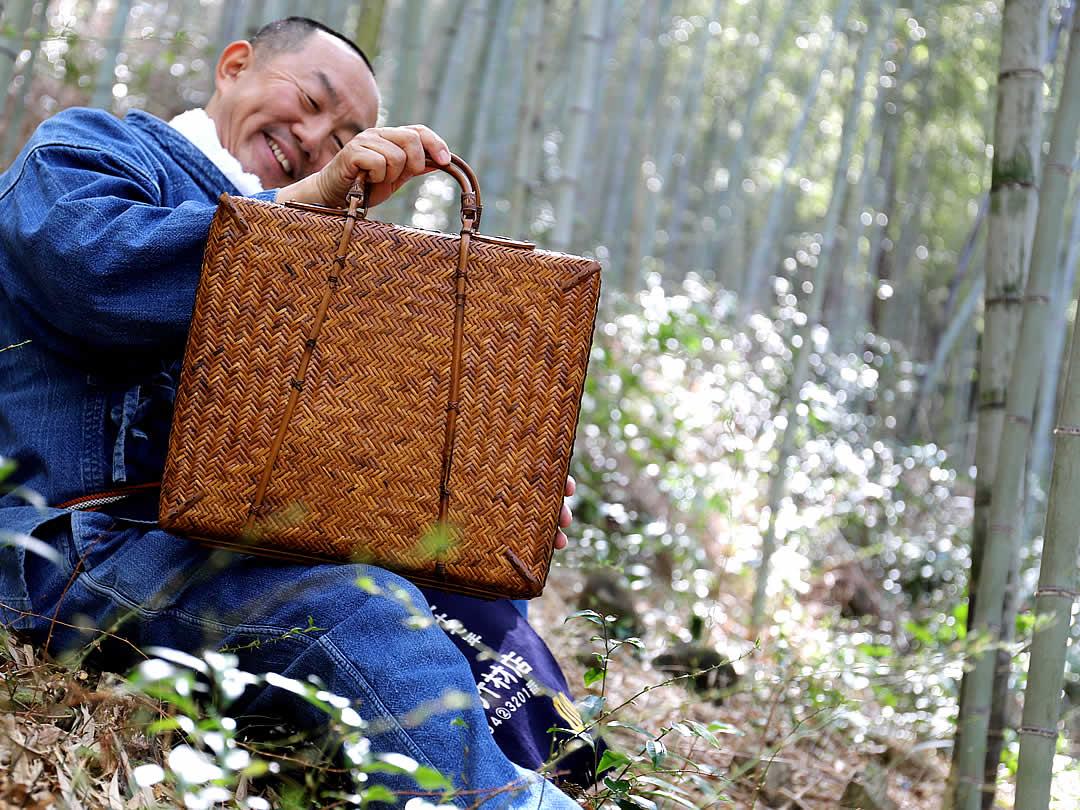 竹アタッシュケース、竹スリムダレス