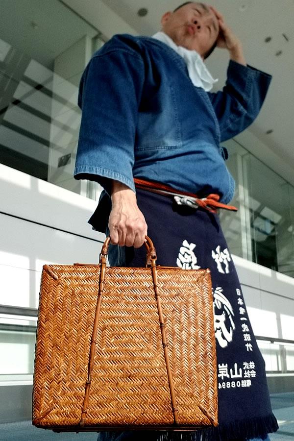 竹製アタッシュケース、竹スリムダレスバッグ