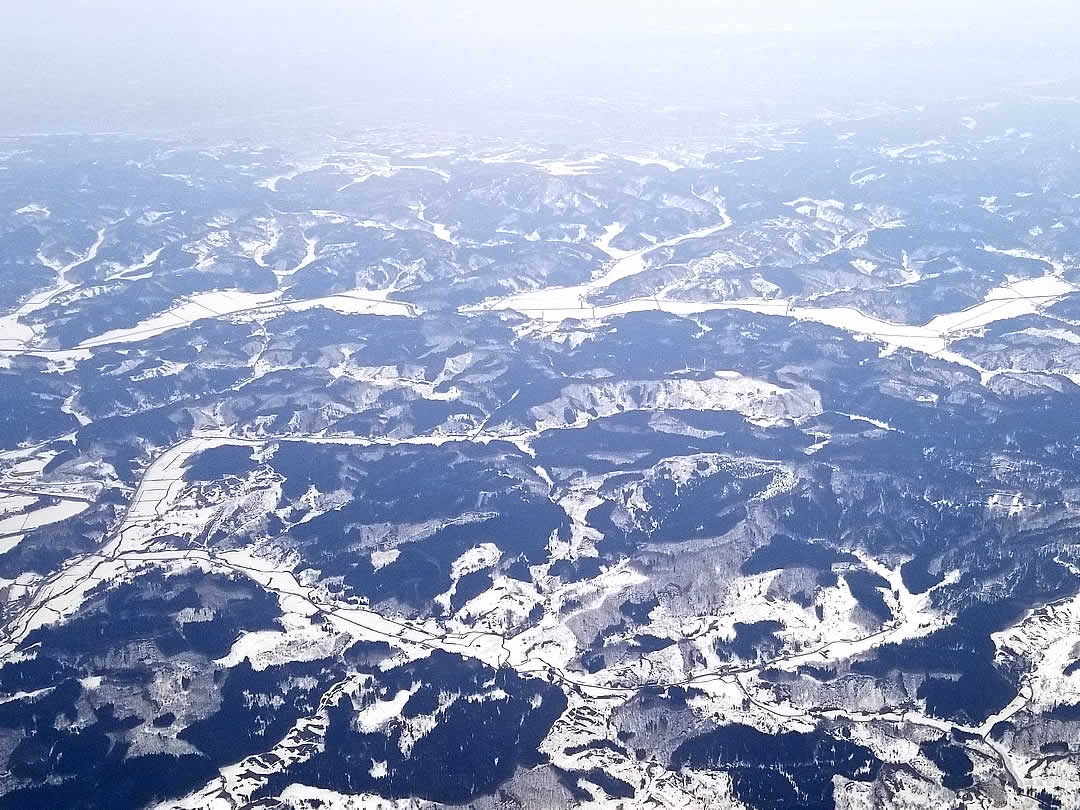 東北の山々