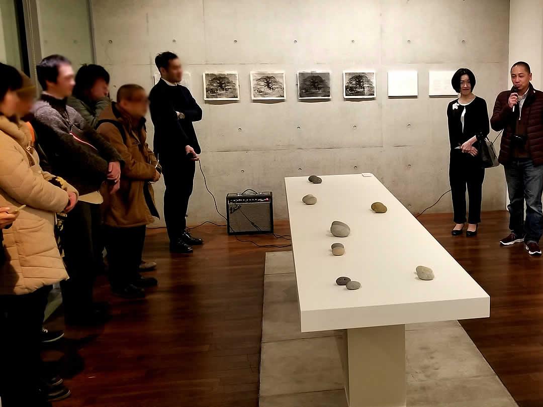 東京での展示会、Ryuichi Yahagi