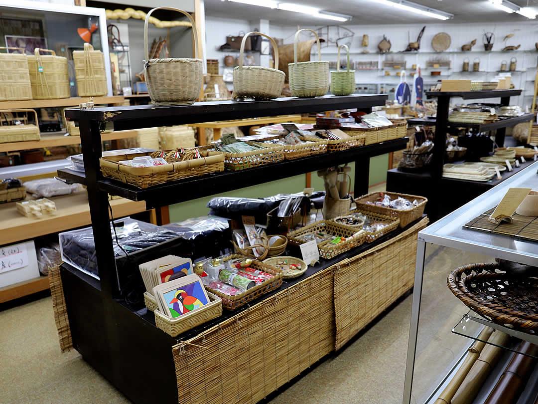 竹虎本店、竹箸、カトラリー、竹笊、竹籠