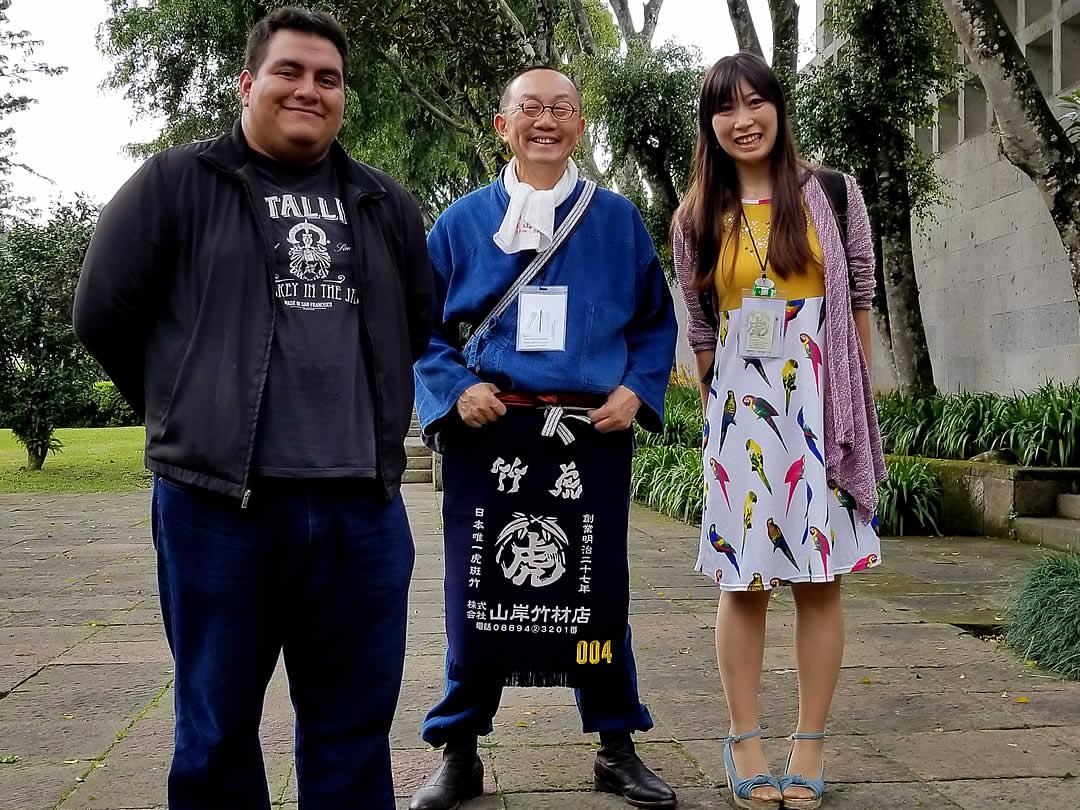 世界竹会議メキシコ、竹虎四代目