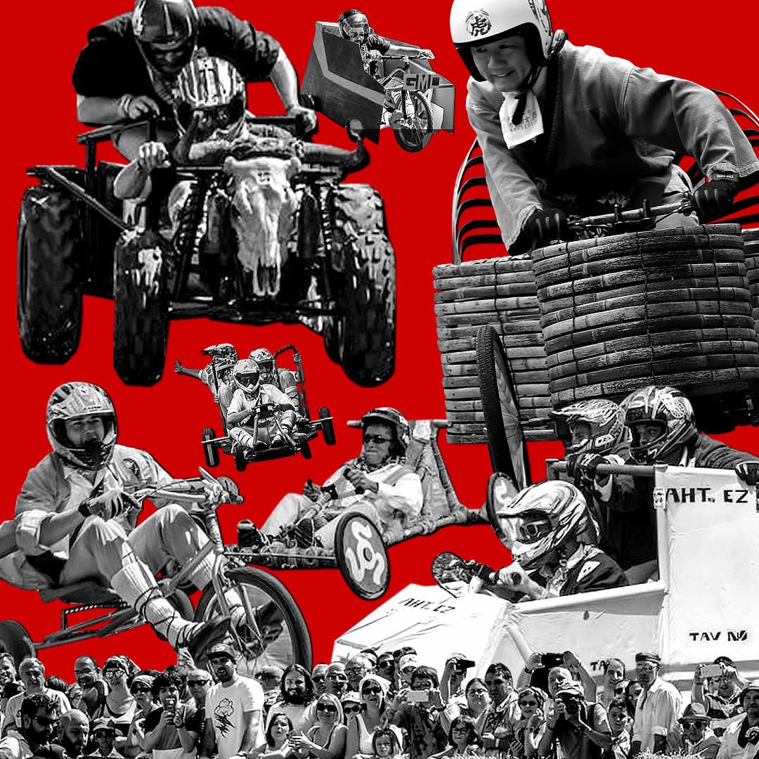 ボックスカートレース(Soapbox race of La Blanca in Vitoria-Gasteiz)