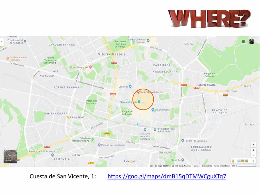 Carrera de Goitiberas de las fiestas de la Blanca de Vitoria-Gasteiz