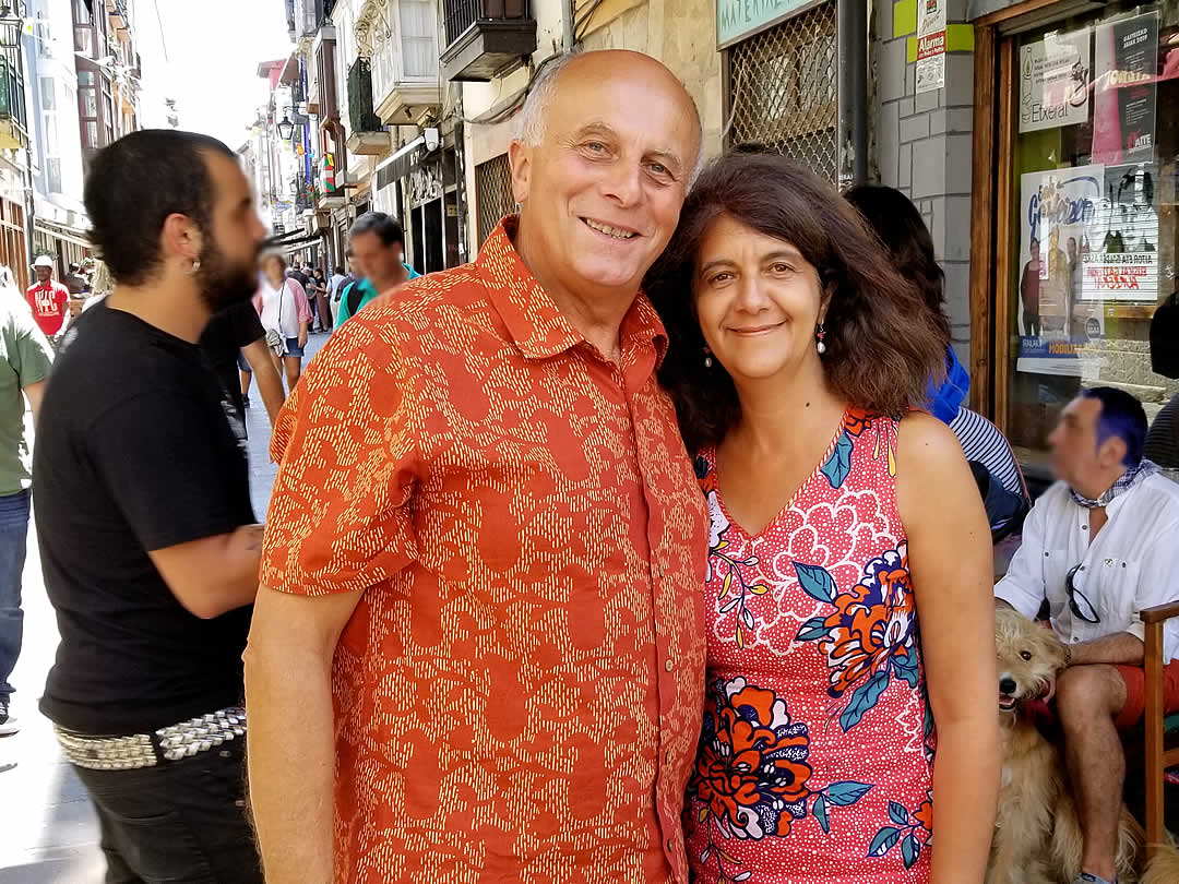 Michel Abadie、Delfina Abadie