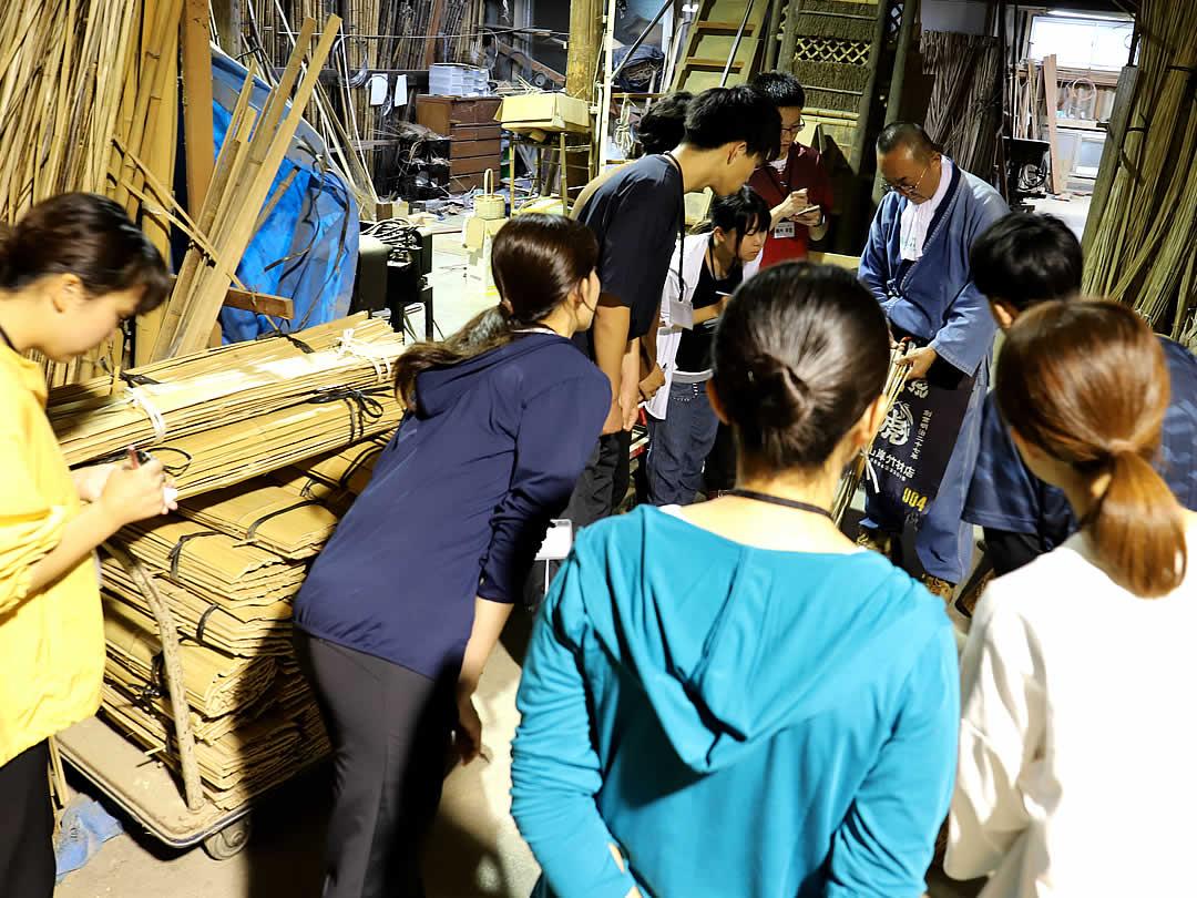 インターンシップ、竹虎工場