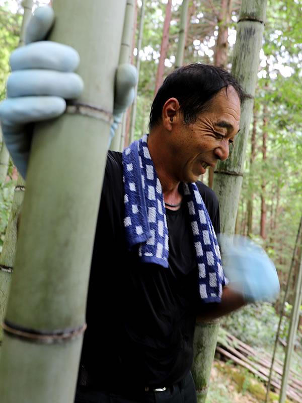 竹虎インターンシップ2019、職人、竹林見学