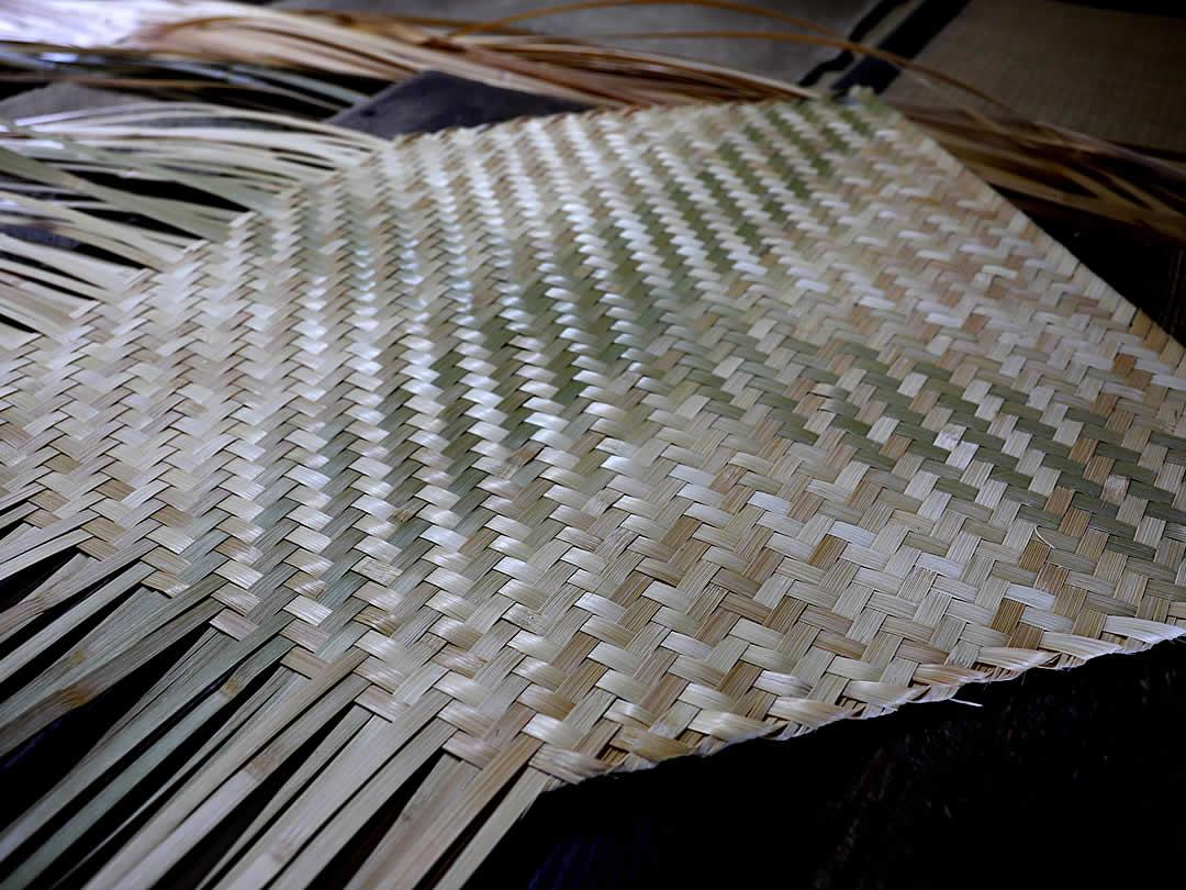 箕網代編み