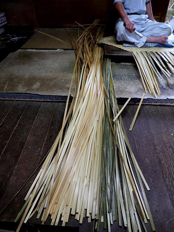 箕、竹ヒゴ