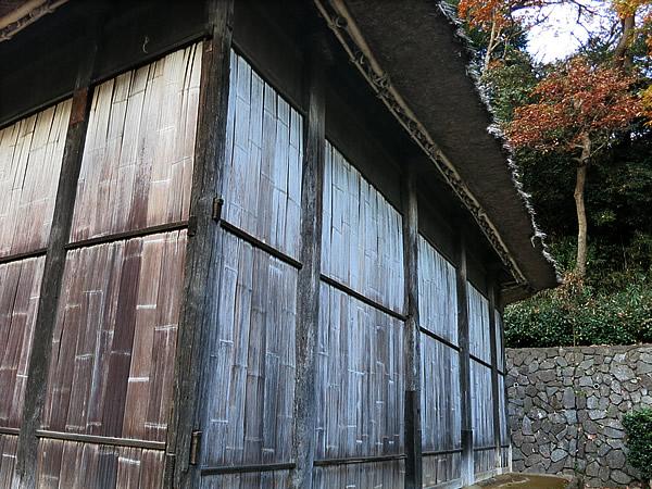 竹ヒシギ壁