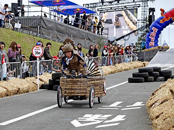 レッドブルボックスカートレース、RedBull boxcart race、竹虎四代目(山岸義浩)、REIWA-125号