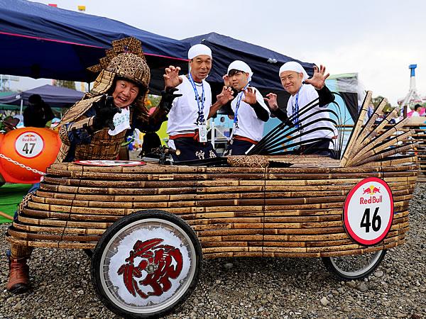 レッドブルボックスカートレース、RedBull boxcart race、竹虎四代目(山岸義浩)、竹虎職人