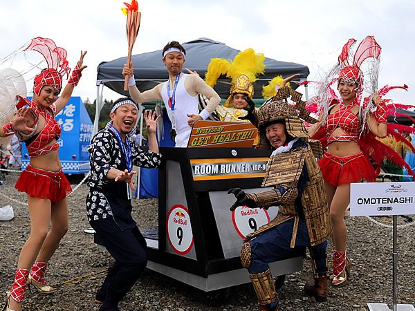 レッドブルボックスカートレース、RedBull boxcart race、竹虎四代目(山岸義浩)