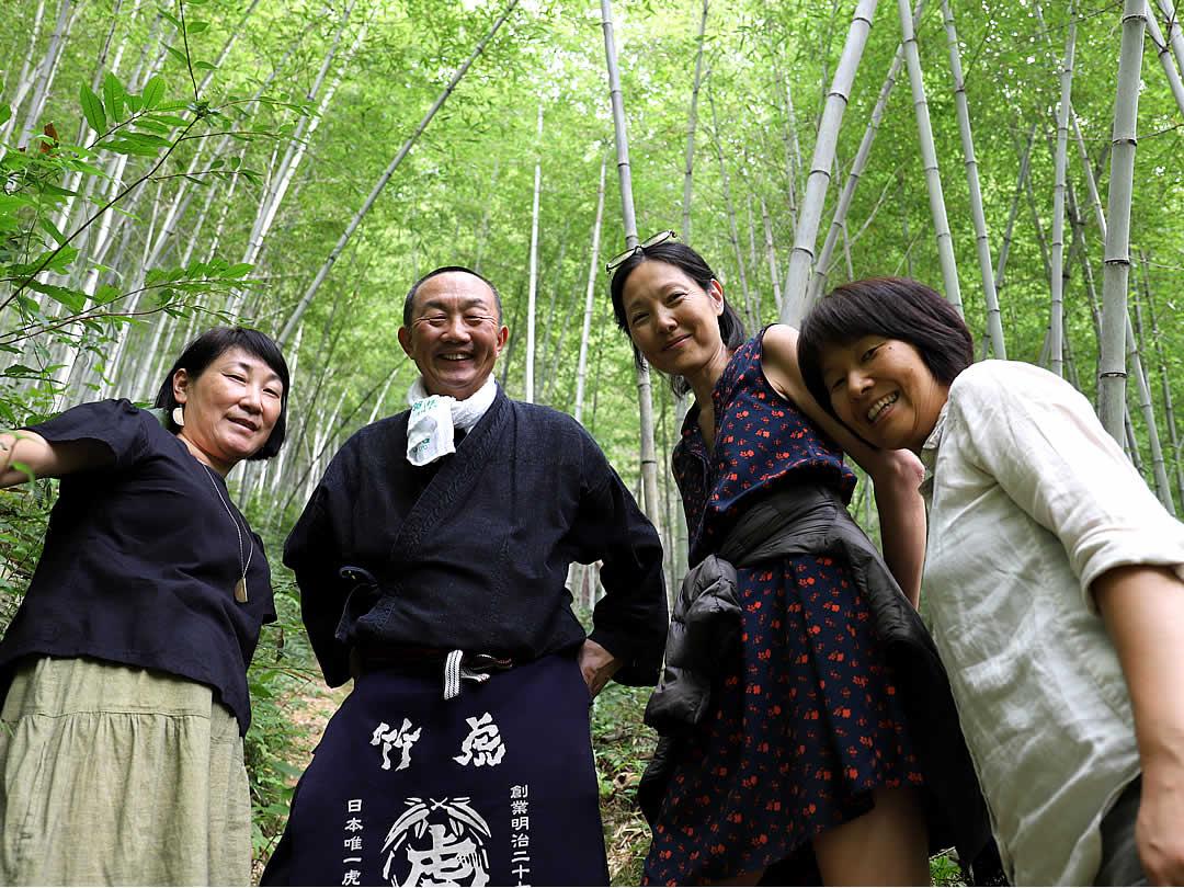 虎竹の里竹林見学