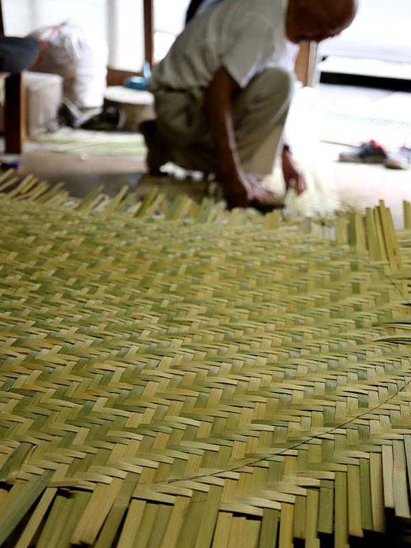 竹ざる、サツマ製造