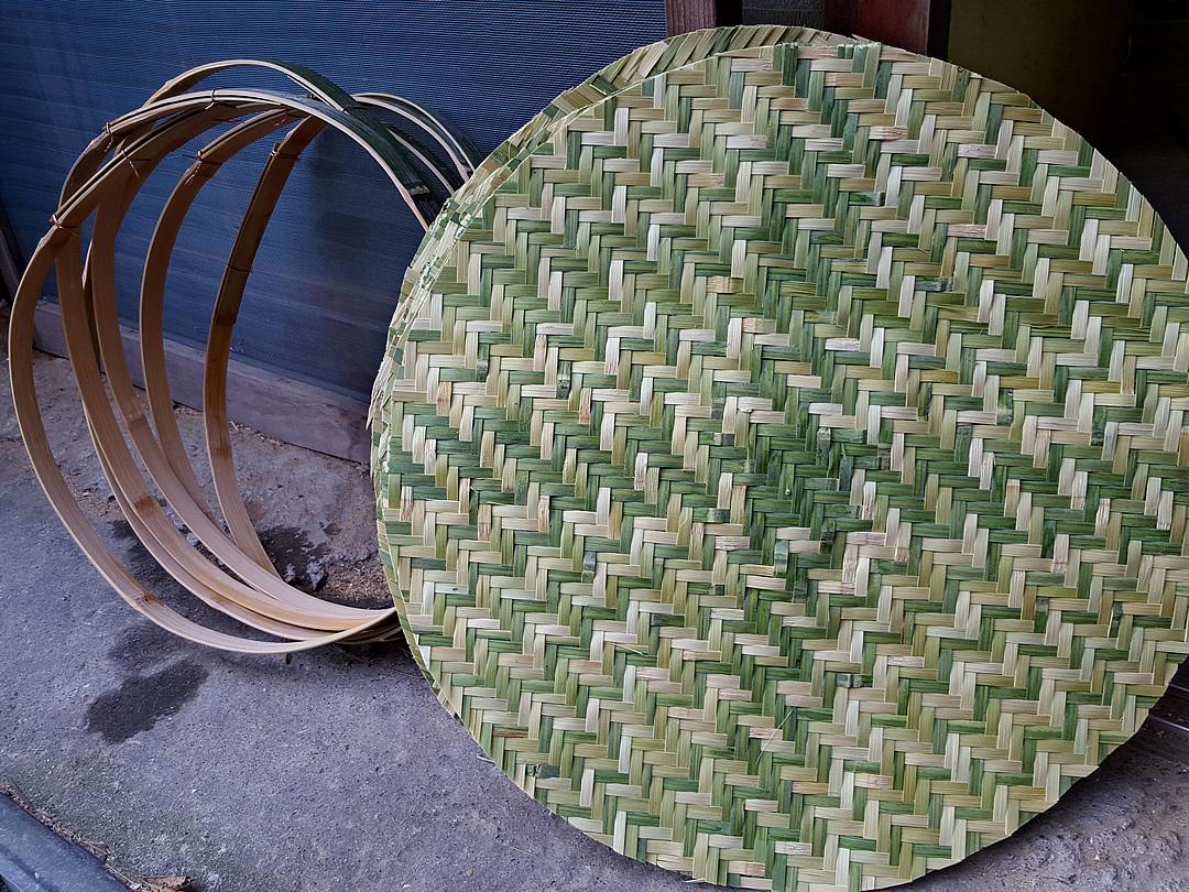 竹ざる製造、サツマ