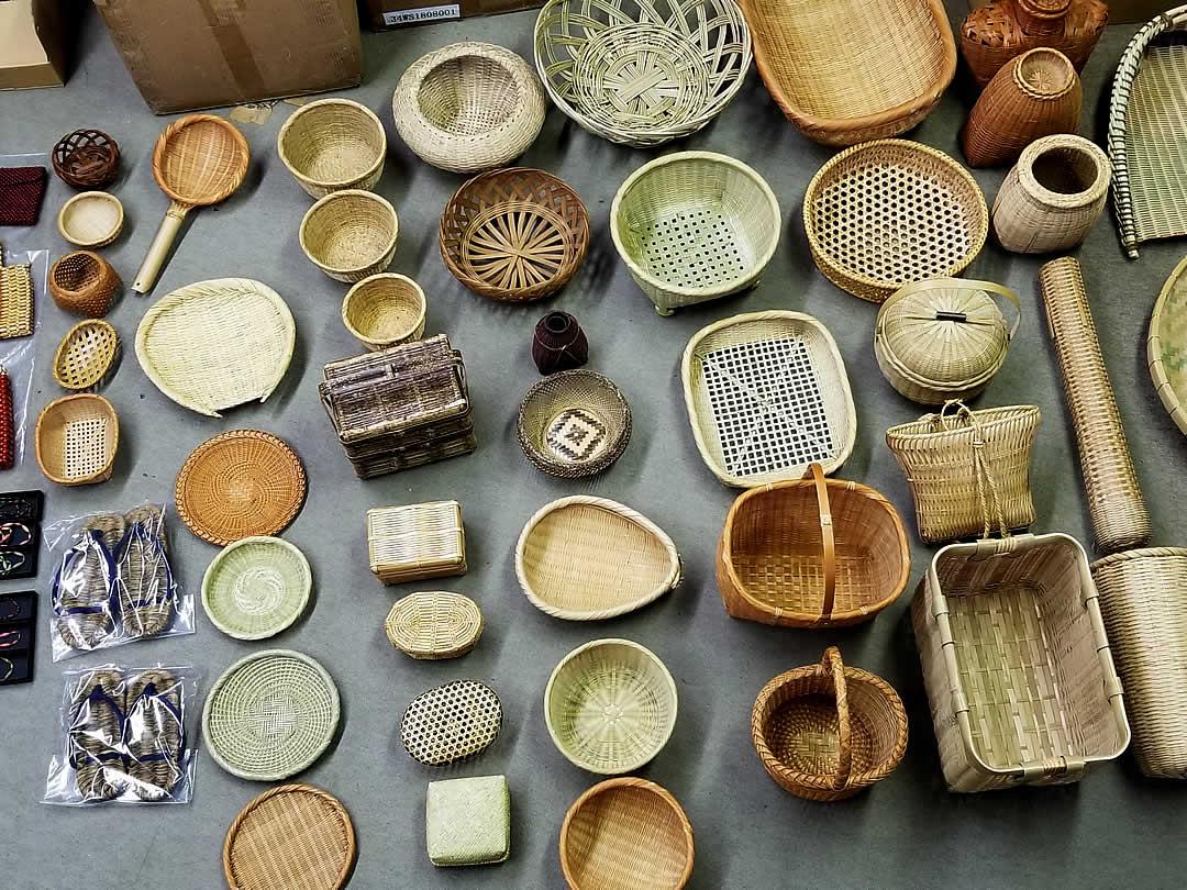 竹籠、竹ざる