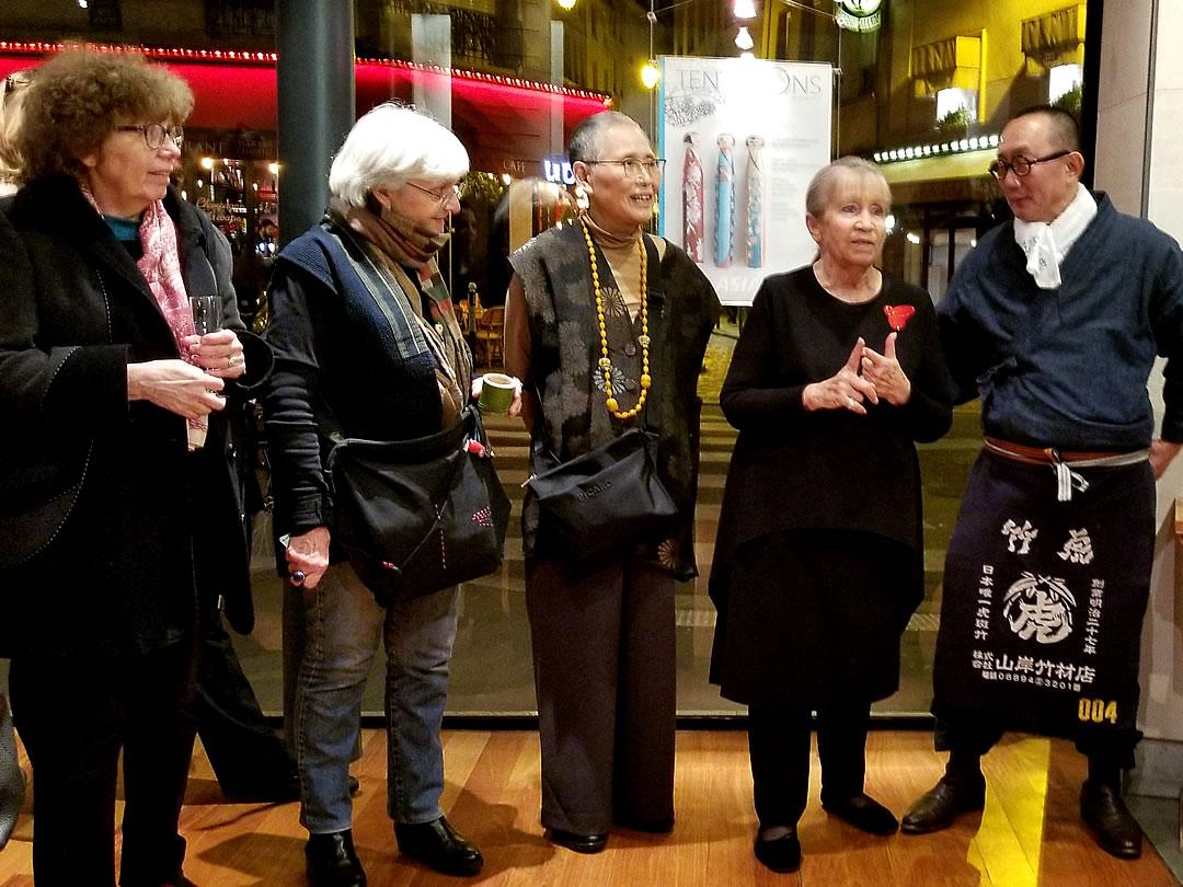 竹虎四代目、フランス国内巡回展「日本の日常生活の中の竹」レセプション