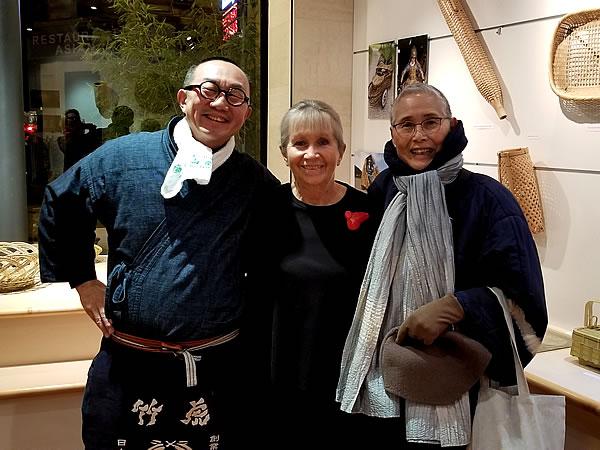 フランス国内巡回展「日本の日常生活の中の竹」レセプション、竹虎四代目