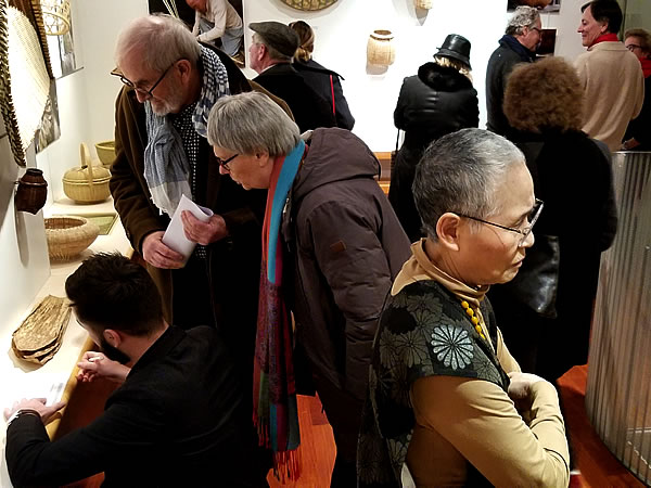 フランス国内巡回展「日本の日常生活の中の竹」レセプション