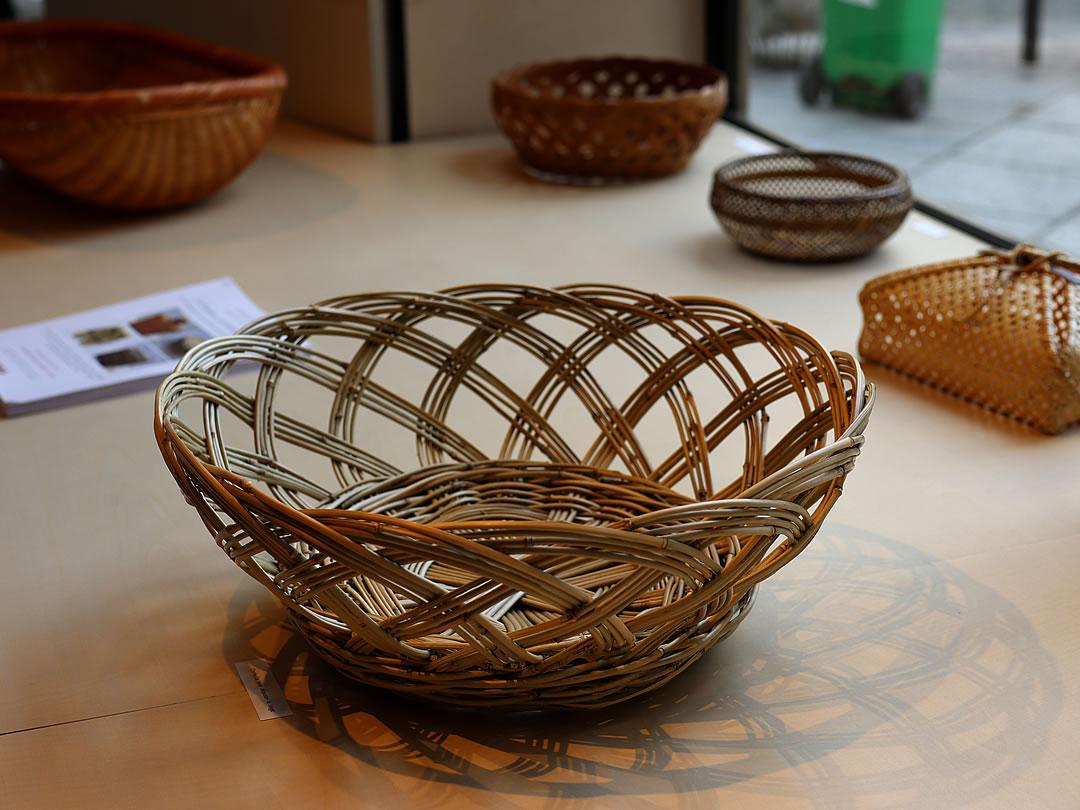 フランス国内巡回展「日本の日常生活の中の竹」パリ会場
