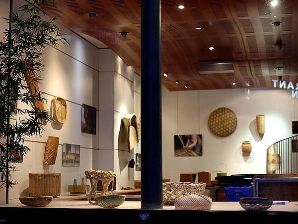フランス国内巡回展「日本の日常生活の中の竹」レセプション会場