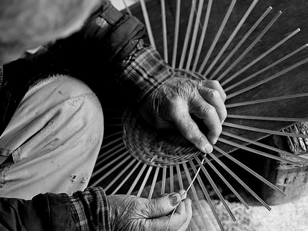 籠編み職人