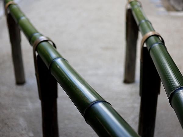 銀閣寺の青竹