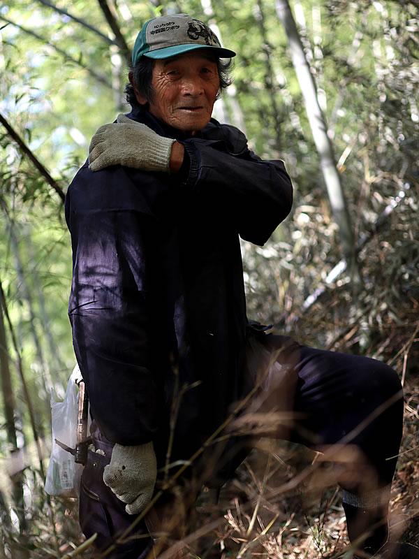 虎竹の里山の職人