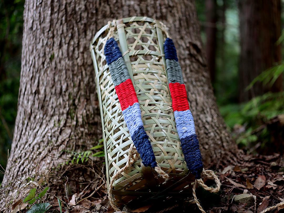 山芋籠、背負い籠