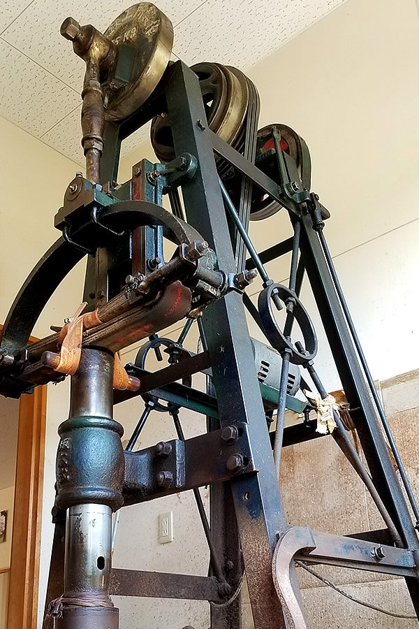 稲打ち機械