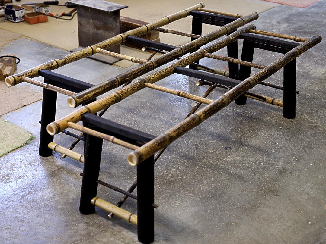 虎竹縁台製造