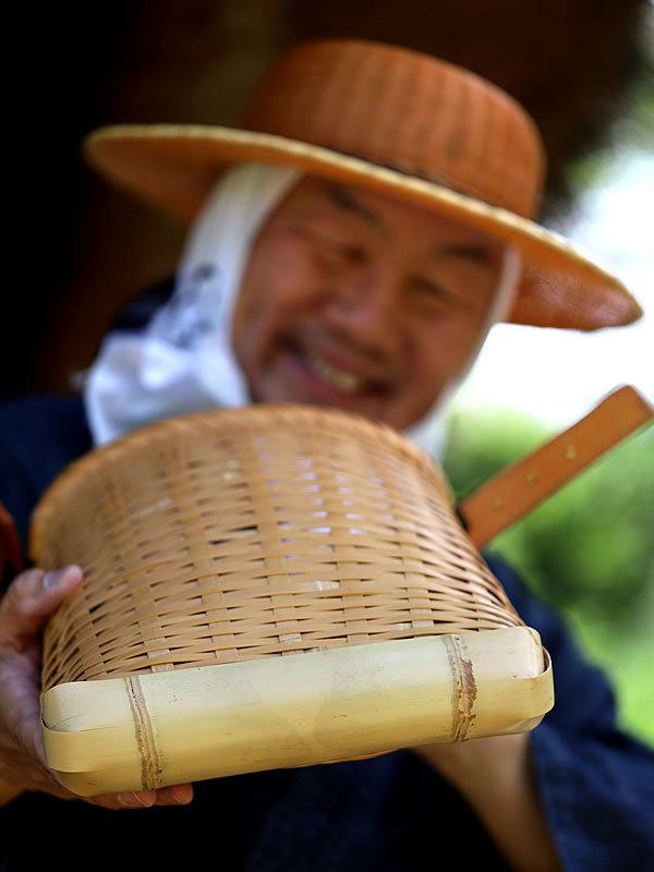 竹虎四代目、竹ショルダーバッグ