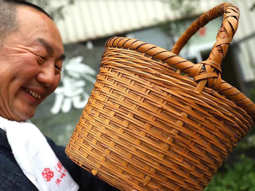 白竹買い物籠