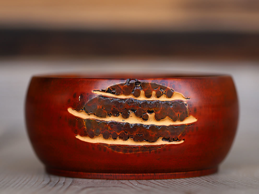 竹根菓子器