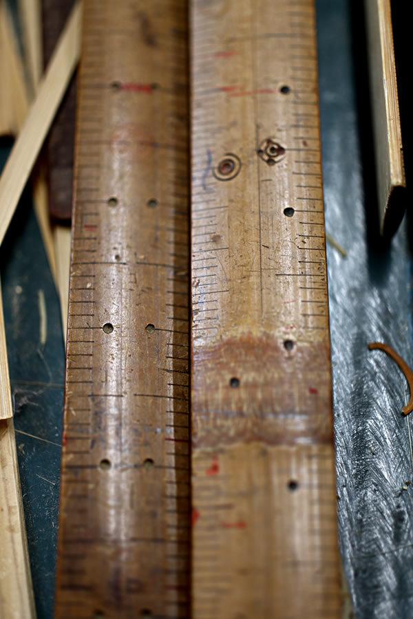 竹の物差し