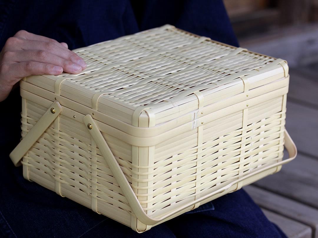 竹ピクニックバスケット