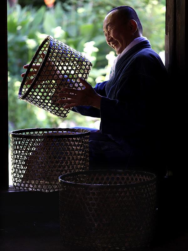 竹虎四代目(山岸義浩)、虎竹ランドリーバスケット、洗濯籠