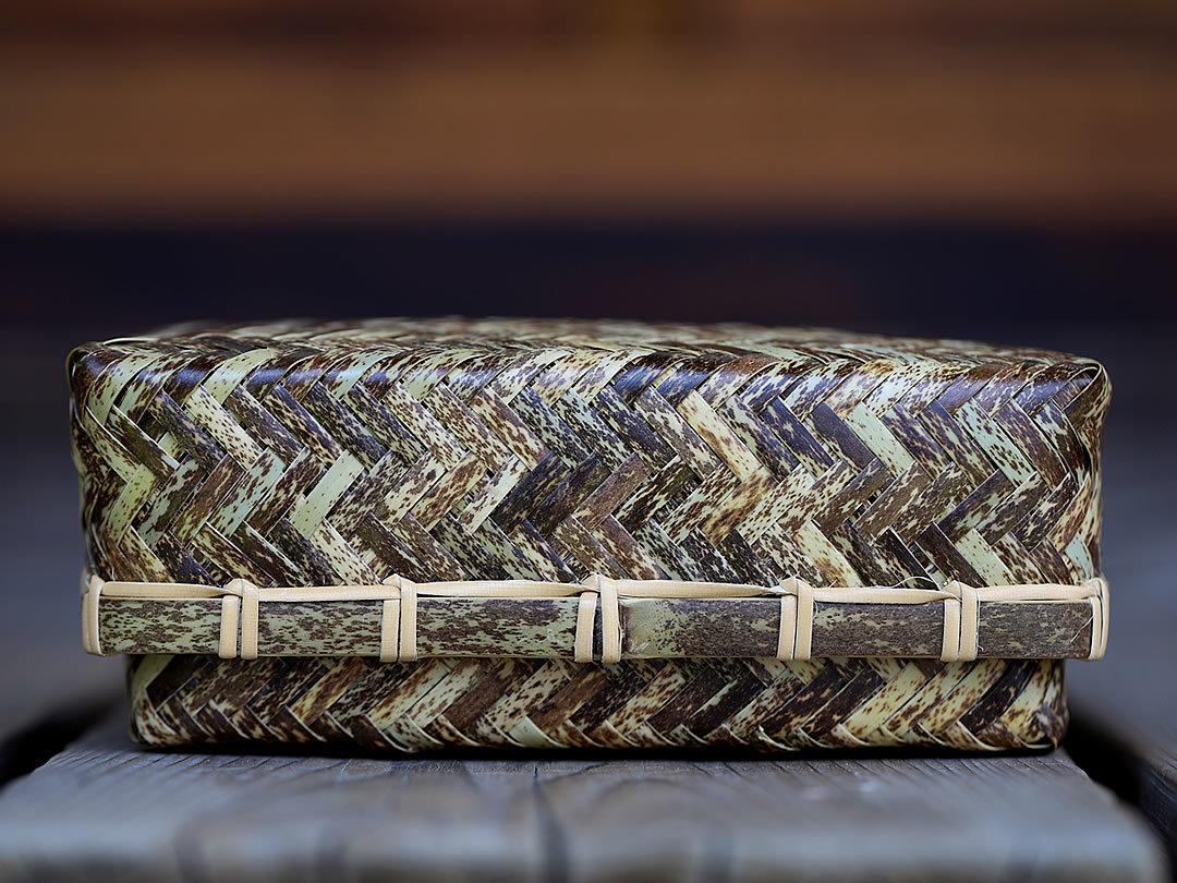 新しい虎竹網代弁当箱