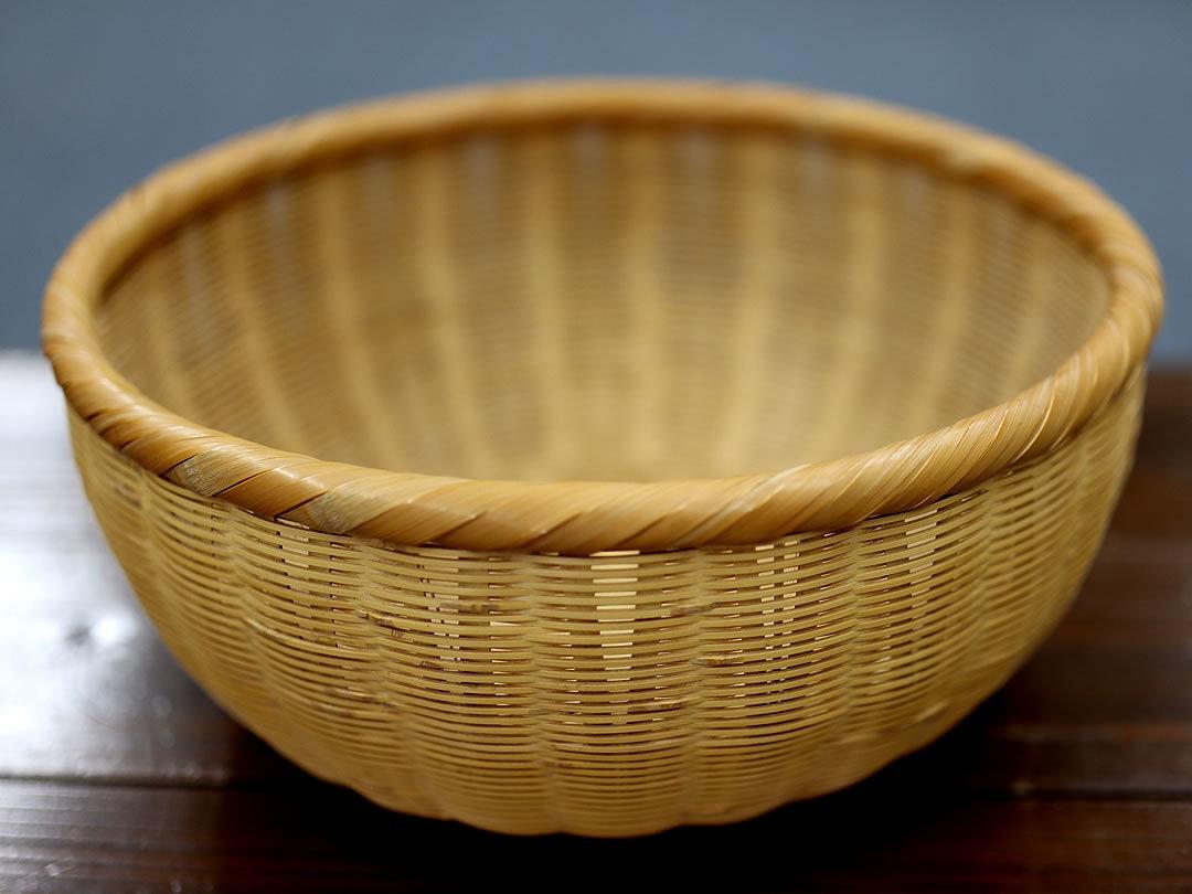 廣島一夫作竹籠ミソコシ