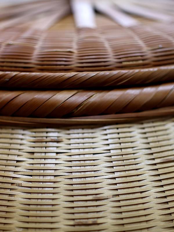 廣島一夫作竹籠イリコカゴ