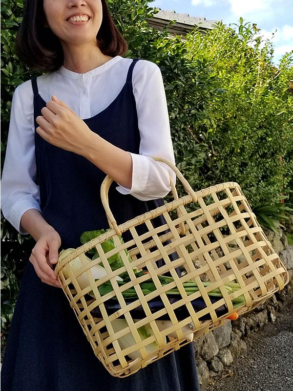 白竹四ツ目買い物籠