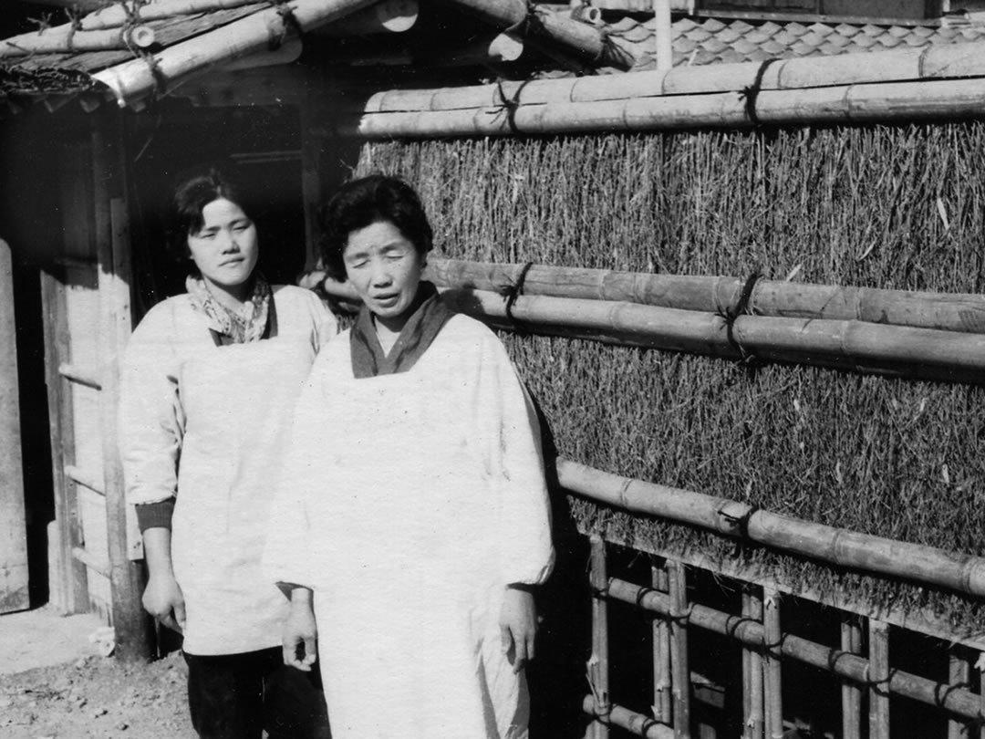 祖母とおばさん