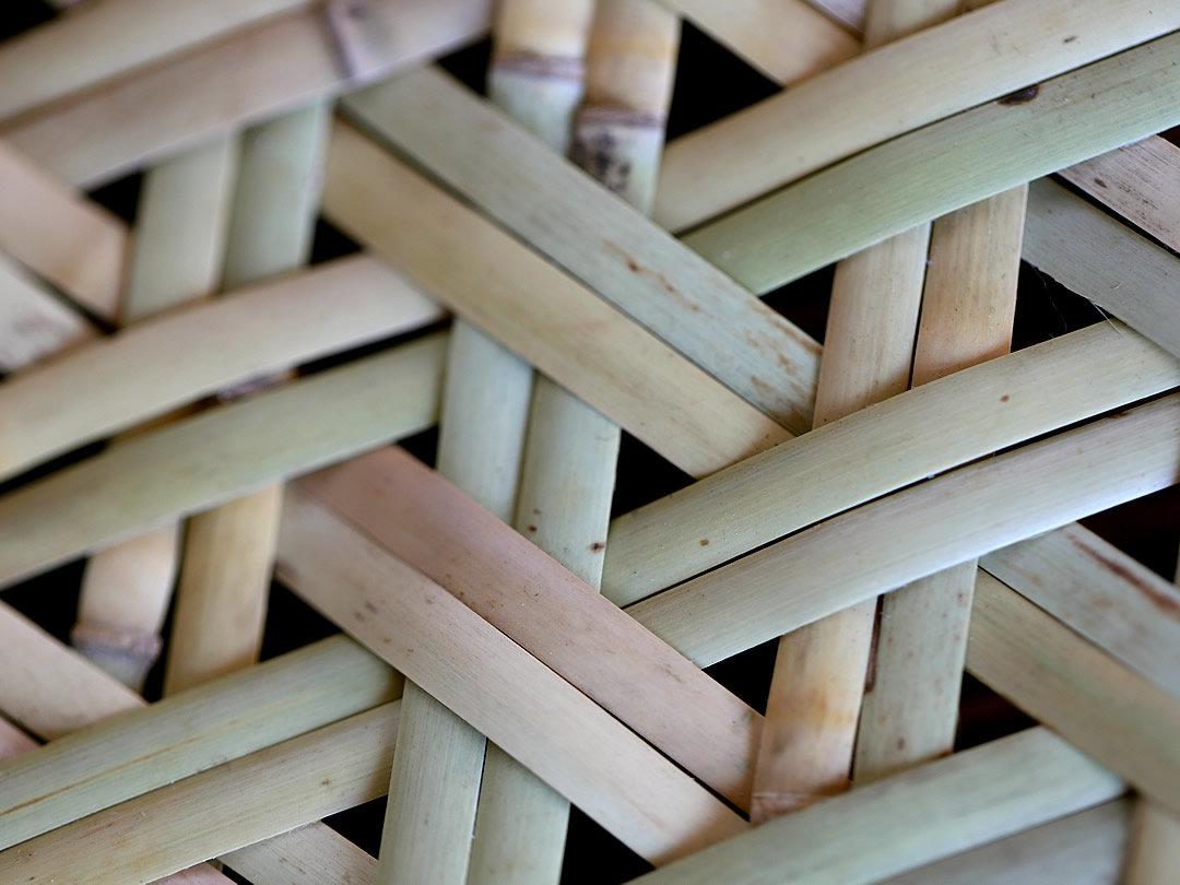 根曲竹盛り皿