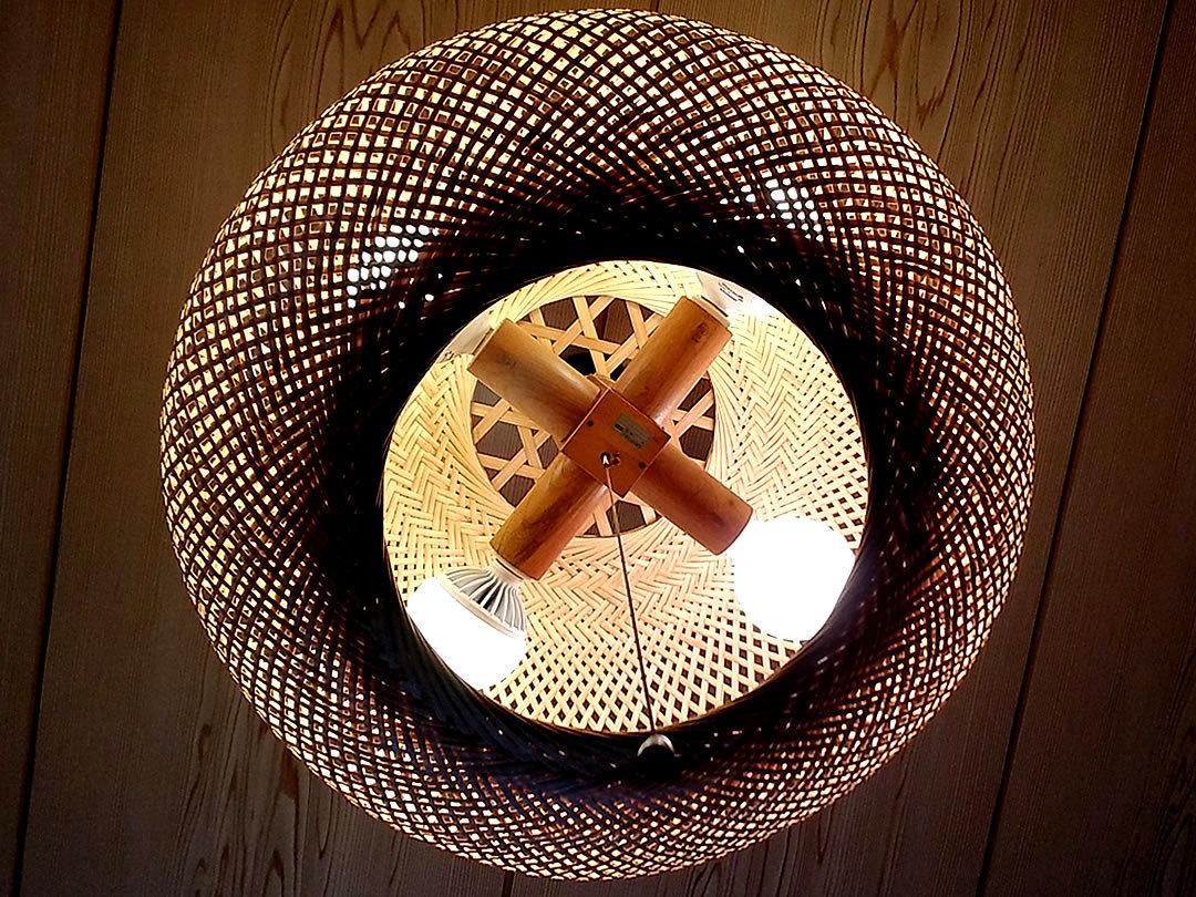 竹シーリングライト
