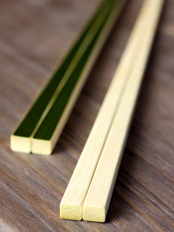 青竹箸コントラスト